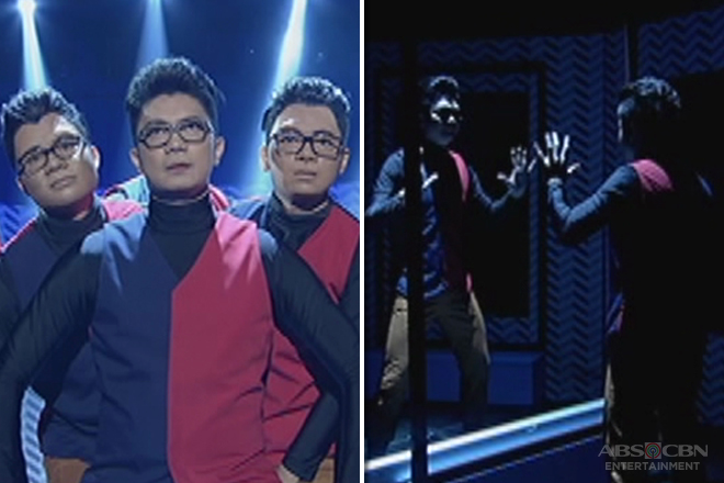 Magpasikat 2017: Vhong wows viewers, uses optical illusion in performance with a heart