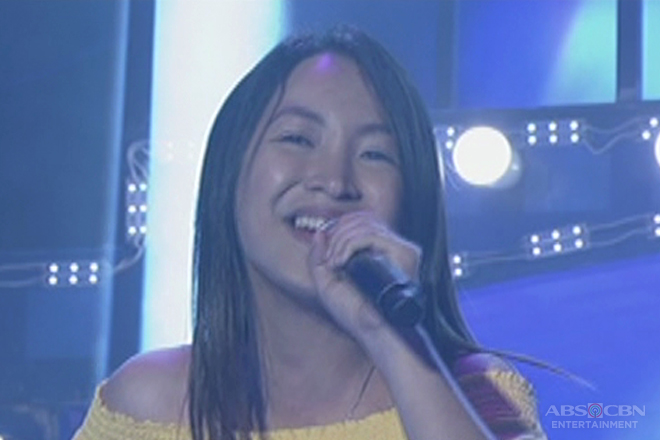 TNT: Metro Manila contender Sherrie Dorio sings Jennifer Hudson's I Am Changing