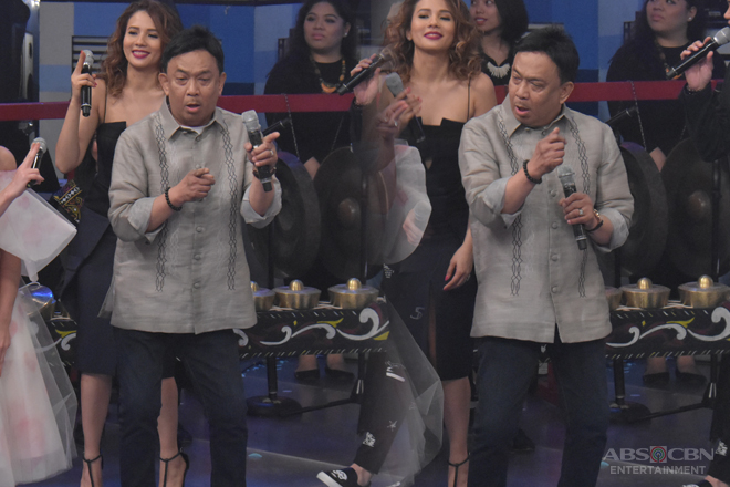 "Rico J. Puno caps off the Hurados' performance with his ""Budots"" dance!"