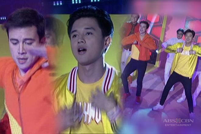 Hanggang Saan stars Arjo at Yves, humataw sa It's Showtime!