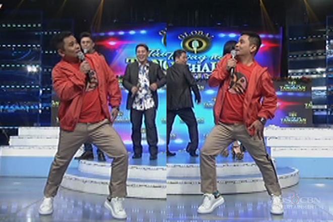 Ogie, hindi napigilan ipakita ang kanyang dance move