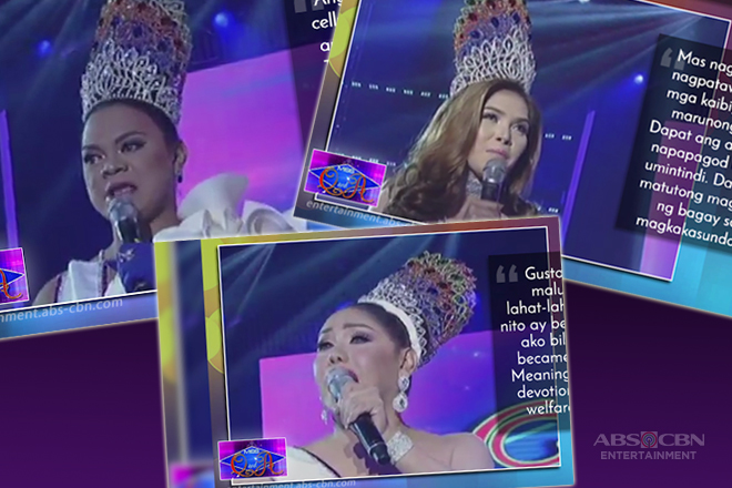 The wittiest answers from It's Showtime Hall of Famers Juliana, Matmat and Rianne