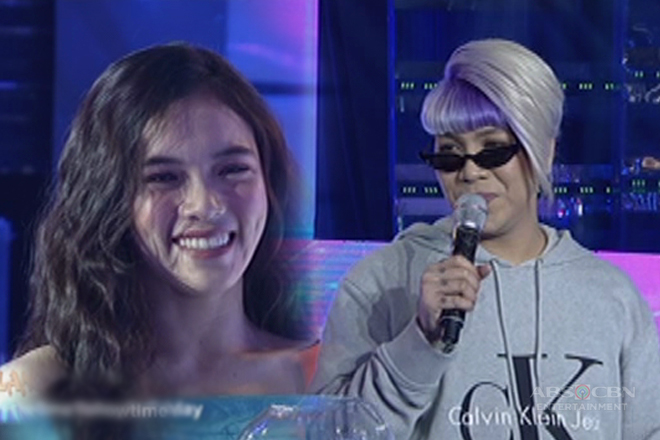 "Vice to It's Showtime dancer: ""Ok lang ba sa'yo na hahalikan kita kahit nakapalda ako?"""