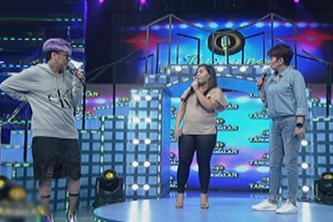 Vice Ganda at Amy, biglang napalayo kay daily contender Rocelle!