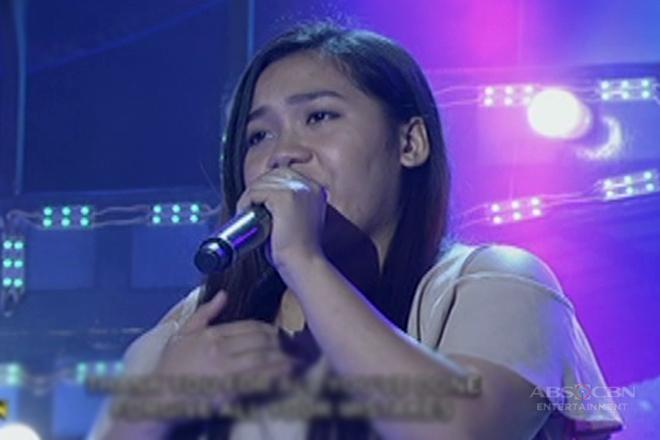 TNT: Visayas contender Rocelle Solquillo sings Christina aguilera's Hurt