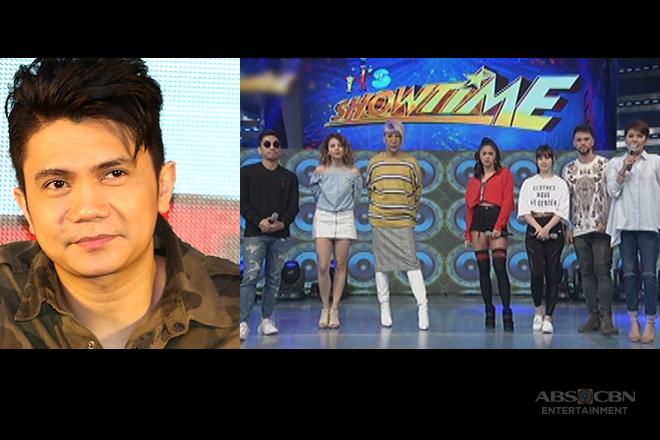 It's Showtime family, inabot ang pakikiramay sa pagkamatay ng ama ni Vhong