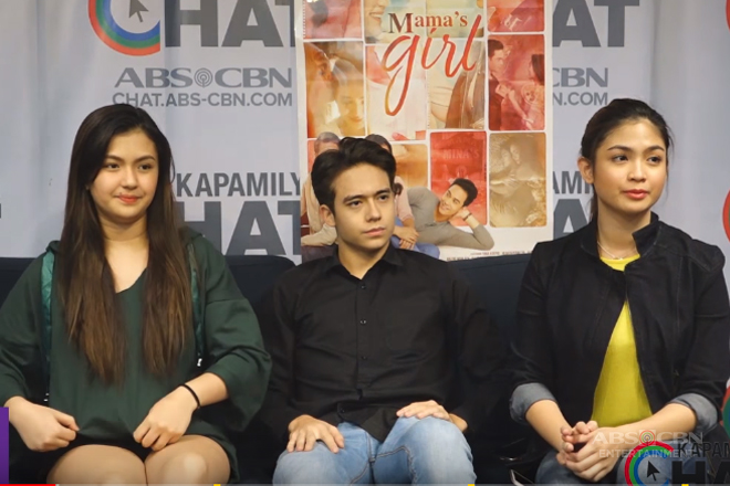 Kapamilya Chat with Karen Reyes, Jameson Blake and Heaven Peralejo for their movie 'Mama's Girl'