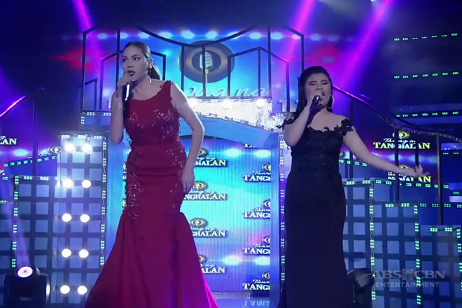 K Brosas at Pauline, naghandog ng powerful performance para sa madlang people!