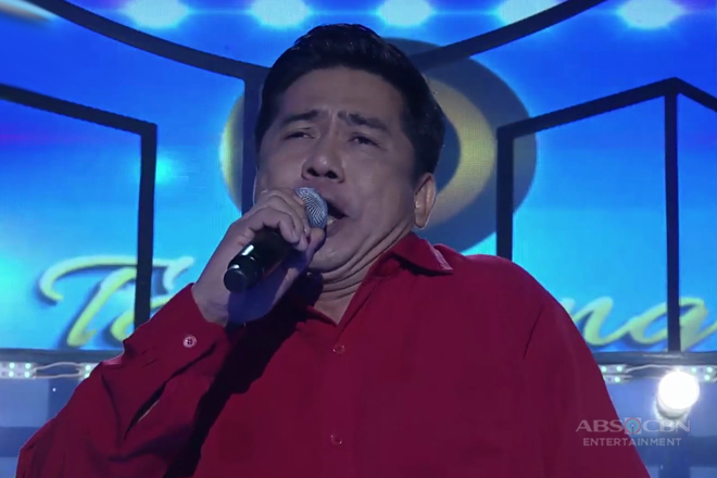 TNT: Metro Manila contender Alfredo Cruz sings Tom Jones' Delilah