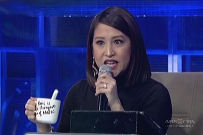 Hurado Jolina, binigyang ng mug ang mga TNT daily contenders