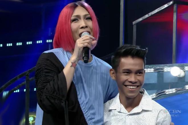 Vice, tuwang-tuwa sa TNT contestant na si Aljun!