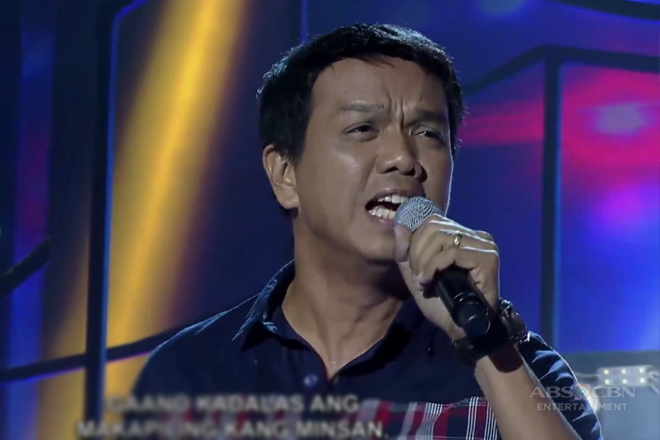 TNT: Luzon contender Leo Mañalac sings