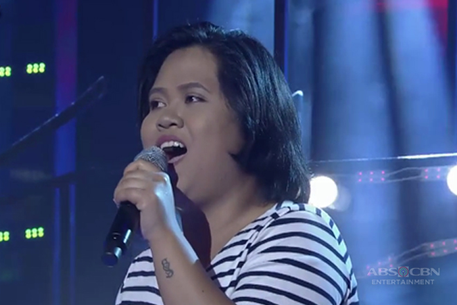 TNT: Luzon contender Emariel Pasana sings You Were Mine