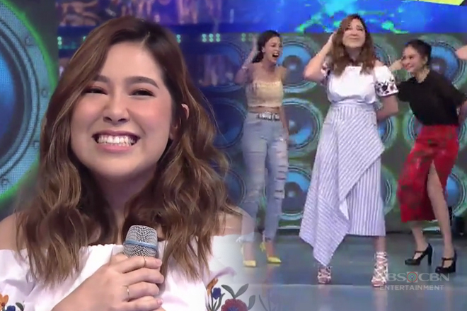 Moira, napasayaw sa It's Showtime!