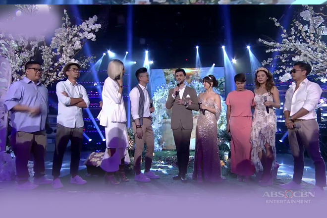 WATCH: It's Showtime family welcomes newlyweds Billy and Coleen