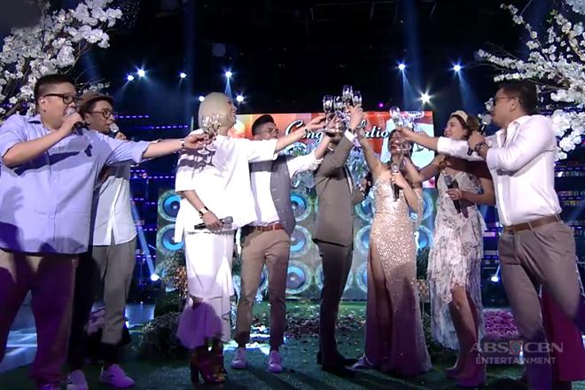 It's Showtime family, nagbigay ng kanilang mensahe sa bagong kasal na sina Billy at coleen