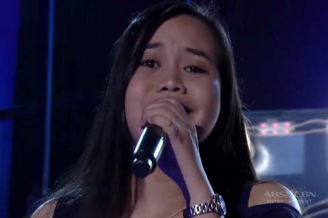 TNT: Luzon contender contender Ruffa Obispado sings Journey's Open Arms