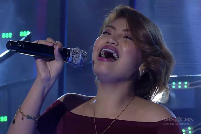 TNT: Luzon contender Eula Bautista sings Orange Colored Sky