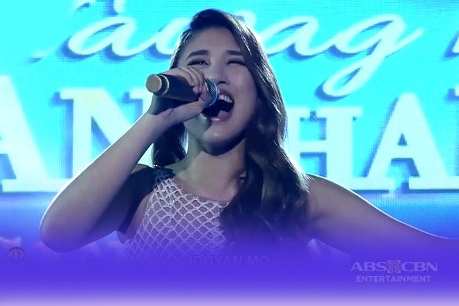 TNT2 Q4 Semifinals Day 6: Arabelle Dela Cruz sings Iduyan Mo