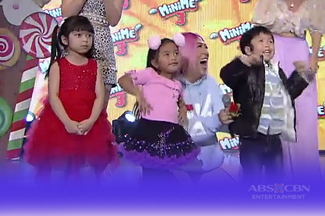 Mini Me 3: Audrey, Keithlyn at Rafael, pasok na sa weekly finals!