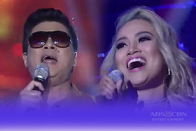 Randy Santiago & Eumee Capile's powerful duet performance on Tawag Ng Tanghalan