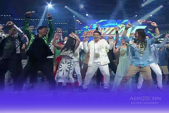 """TNT2 grand finalists, hindi nakaligtas sa """"Moy-A"""" dance challenge sa It's Showtime"""