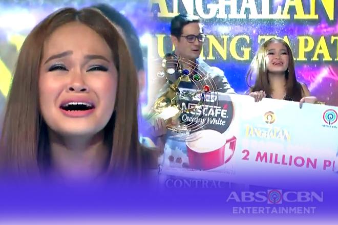 Janine Berdin, itinanghal na Grand Champion sa Tawag Ng Tanghalan Season 2!
