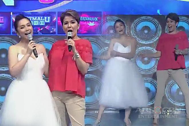Mariel, nakipagsabayan sa dance floor kay Tyang Amy!