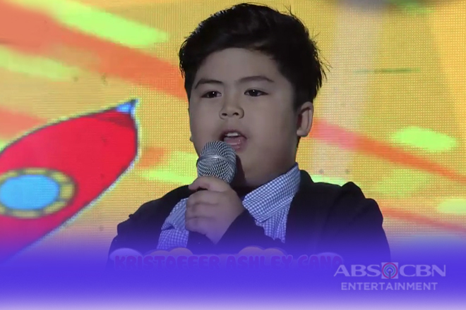 Minime 3: Kristoffer Ashley Cano as Mini Enrique Gil