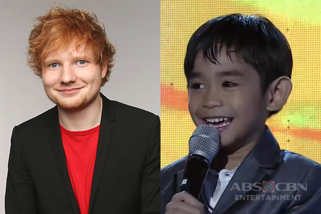Minime 3: Renzo Theo Matunog as mini Ed Sheeran