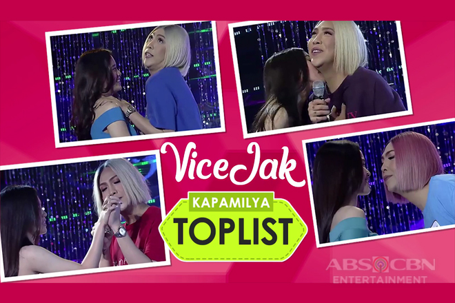 Kapamilya Toplist: 15 scenes that made us all kilig over #ViceJack in Its Showtime