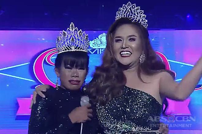 Elsa Droga Mendoza and Kristine Ibardolaz, parehong nakapasok sa Miss Q & A Semifinals!