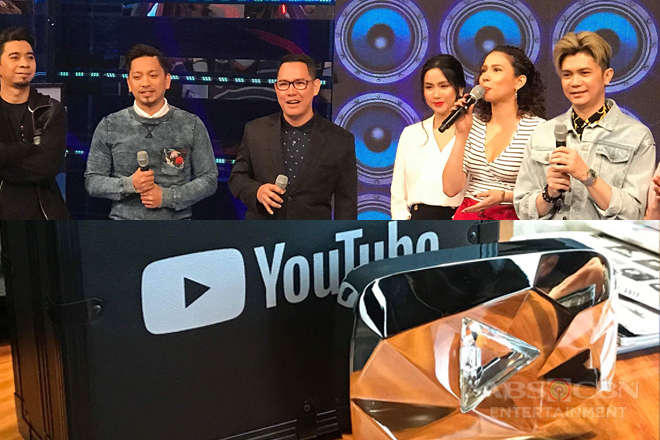ABS-CBN, nakatanggap ng Diamond Creator Award mula sa YouTube