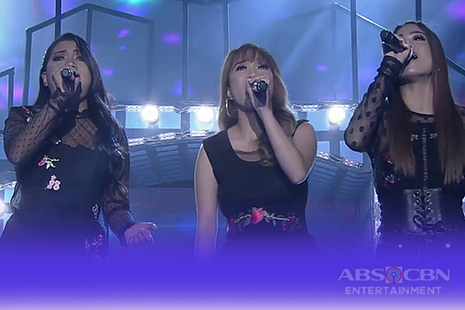 'TNT Divas' Gidget, Rachel and Remy with their own rendition of 'Eternal Flame'
