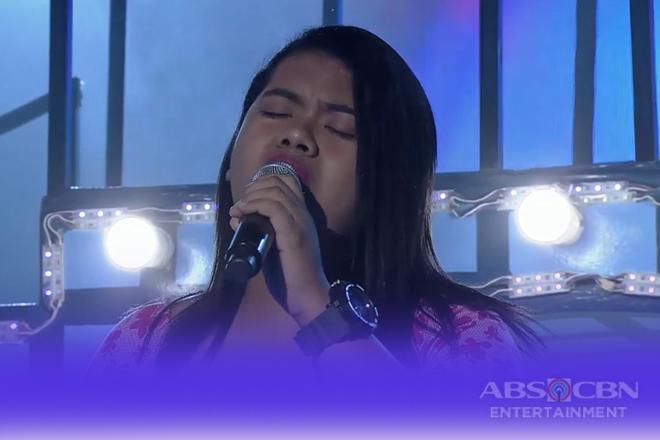 TNT 3: Luzon contender Claire Ann Villena sings Mama