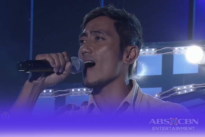 TNT 3: Luzon contender contender Mon Carlos Cos sings Gary Valenciano's sings Warrior Is A Child