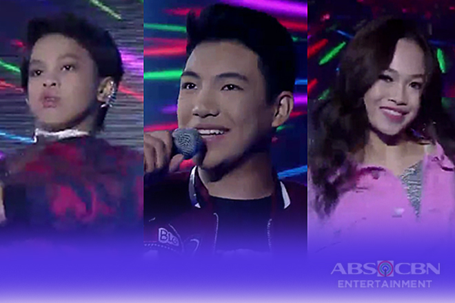Darren, AC & Awra's back-to-back performance on It's Showtime