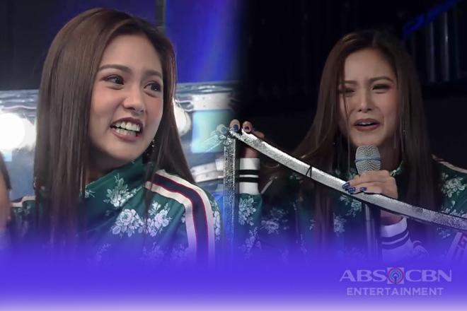 WATCH: Kim Chiu pranks on Tawag Ng Tanghalan Stage!