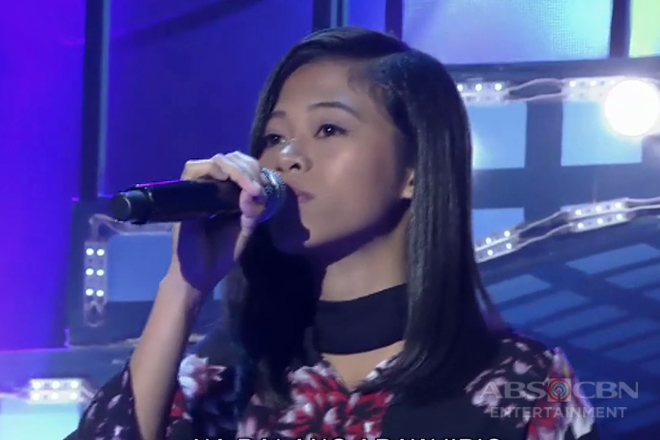 TNT: Mindanao contender Carly Chenn Tenebro sings Yeng Constantino's Ikaw