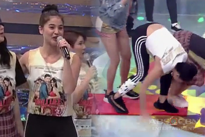 Anne Curtis, sinorpresa ang madlang people sa kanyang 'Buy Bust' moves