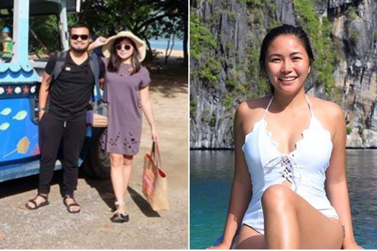 Yeng and Yan's sweet escape in Palawan