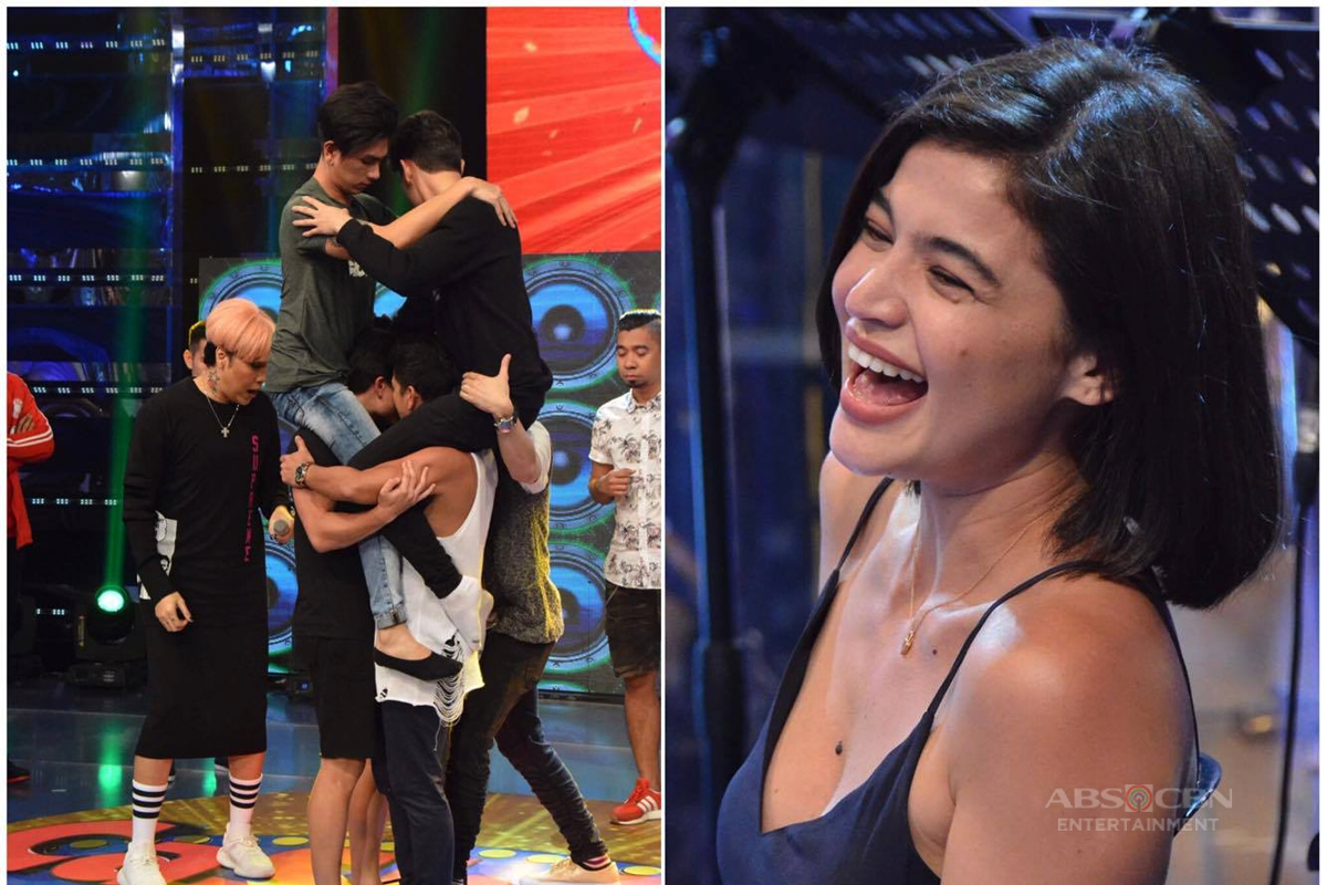 IN PHOTOS: Funny reactions of Anne Curtis while watching It's Showtime's Cash-Ya!
