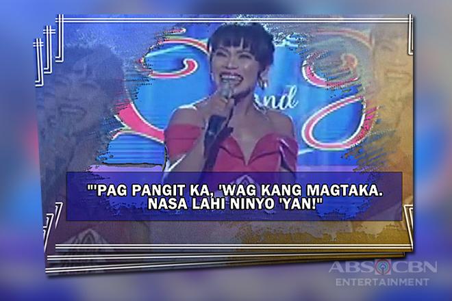 """Balikan ang ilan sa mga nakakaaliw na linyang tatak """"Miss Q & A"""""""