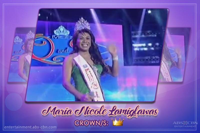 Mga Naggagandahang Kandidata Na Minsang Nakoronahan Bilang Miss Q & A