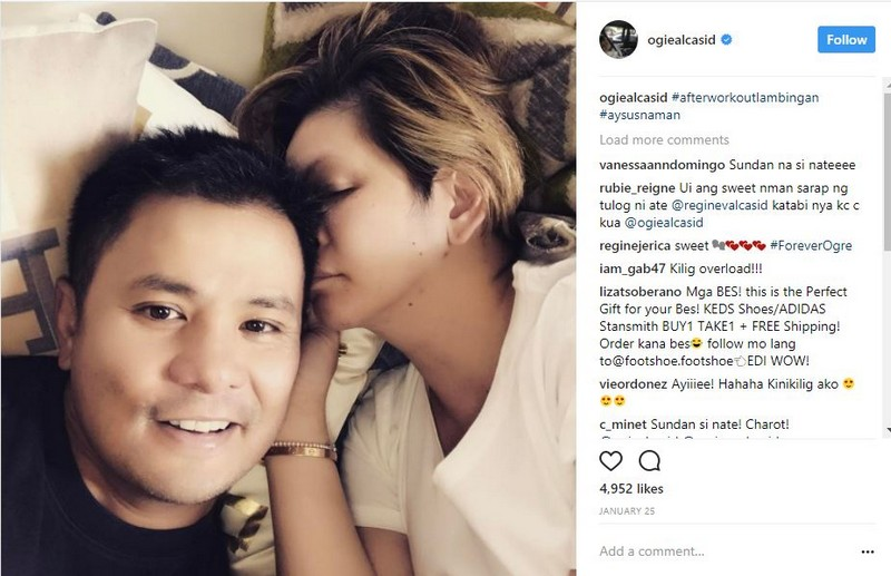 22 Photos of Hurado Ogie and Regine that show they've come a long way as husband and wife
