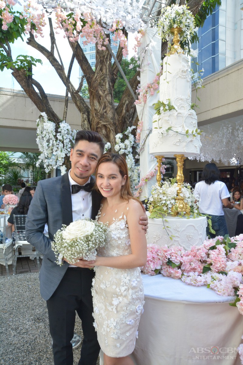 EXCLUSIVE PHOTOS: Here's what happened after the wedding of Teddy and Jhazmine on It's Showtime