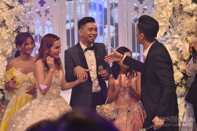 Teddy and Jhazmine Wedding: Perfectly captured reactions of It's Showtime family