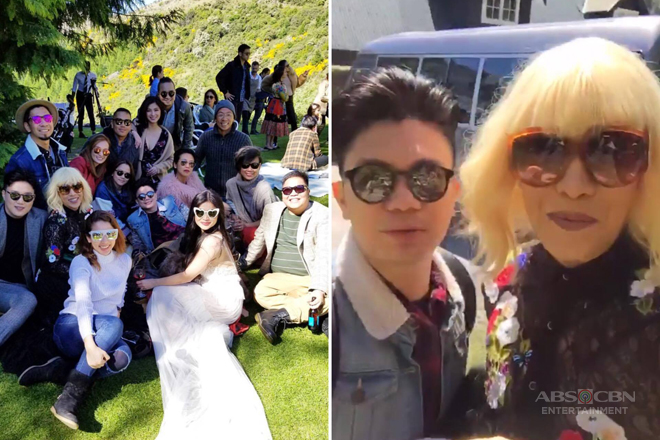 IN PHOTOS: It's Showtime family attends Anne's beautiful wedding w/ Erwan