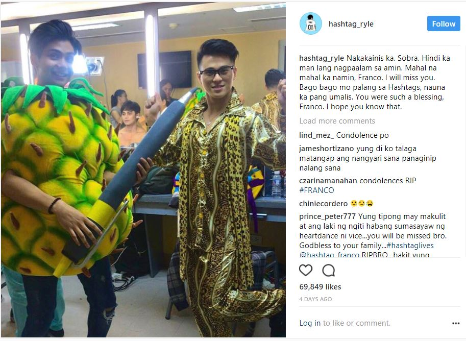 32 IG posts of Hashtag members that show how much they miss Franco Hernandez