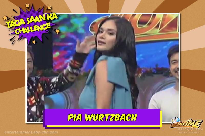 "LOOK: Ilan sa mga paborito mong artista na napasabak sa ""Taga Saan Ka"" challenge sa It's Showtime"